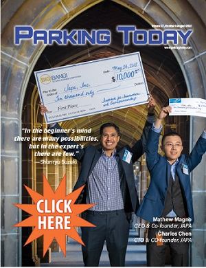 Current issue of Parking Today - 1120